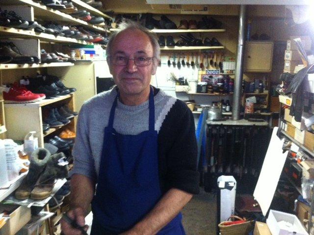Hervé Sauvageot, une pointure de la chaussure.