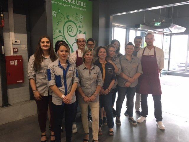 La belle équipe du supermarché Colruyt