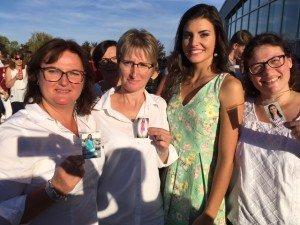 Coline Touret Miss Bourgogne ( en famille)