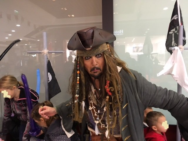 Carrément le sosie Jack Sparrow