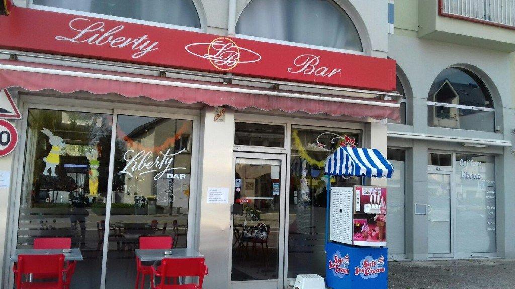 Une machine à glace à l'Italienne au Liberty, un parfum d'Italie.