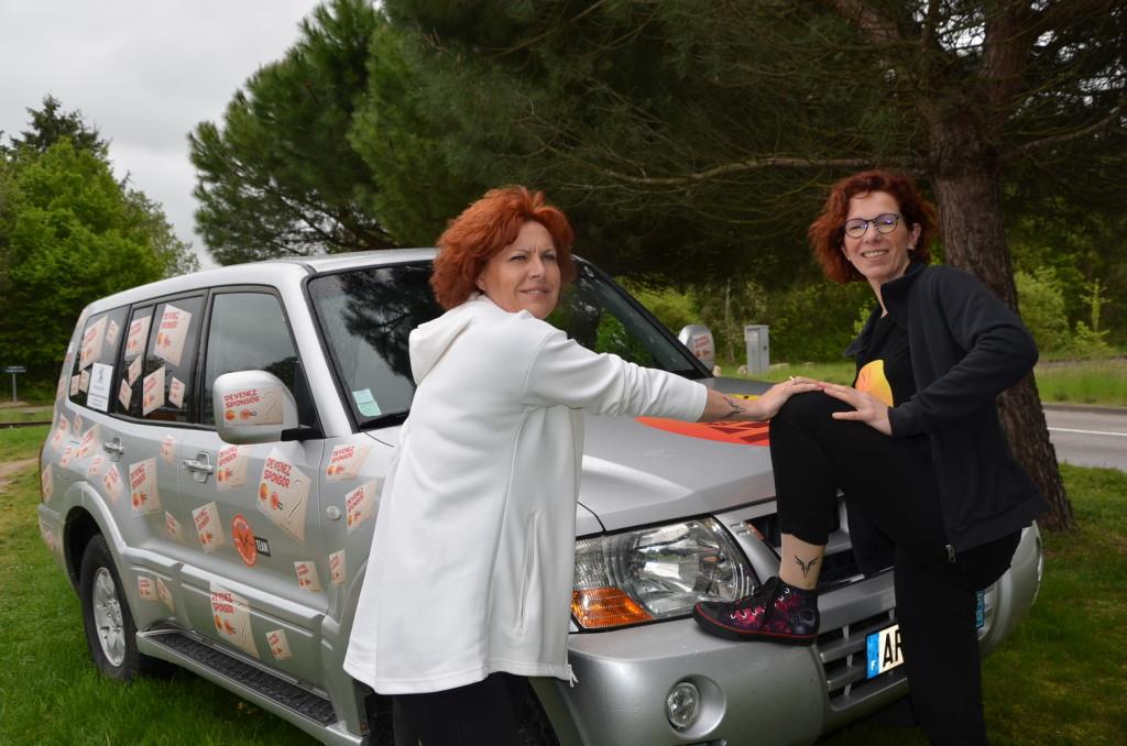 Patricia et Sophie à la recherche de sponsor pour être au départ sur le Rallye des gazelles 2020