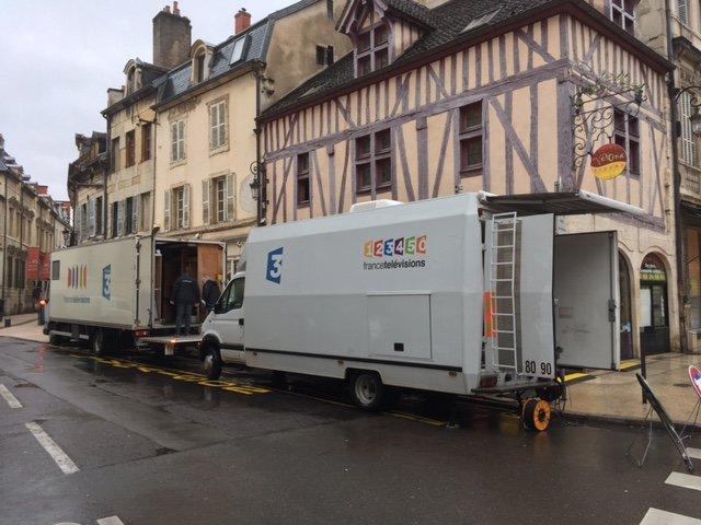 Le Car régie de France 3 BFC sur tous les terrains