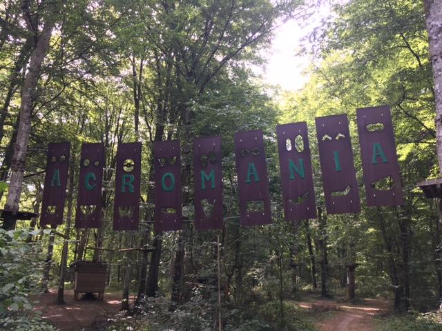 Acro'Mania, les portes de la forêt de Chevigny