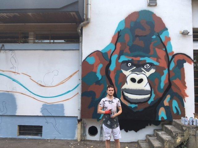 Du street art au centre commercial Des Ayers