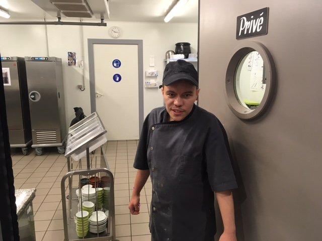 Anthony Valerio , côté cuisine