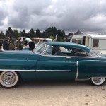 Elle claque la Cadillac de 1950