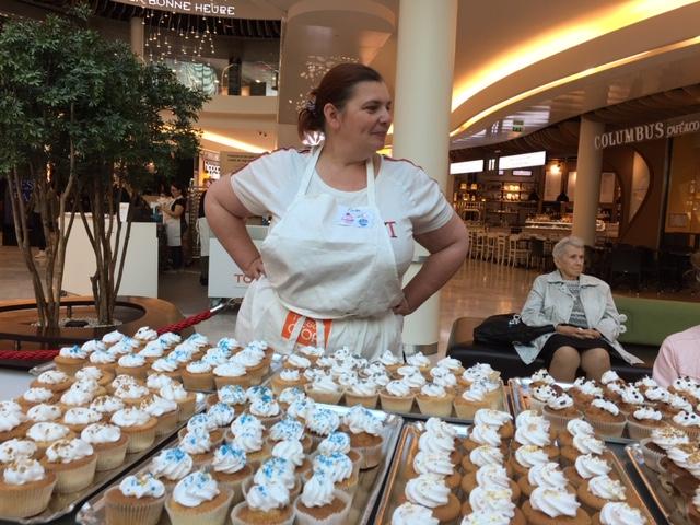 Muriel Arcos de cakes in tne City relève le défi pour le rêve des enfants