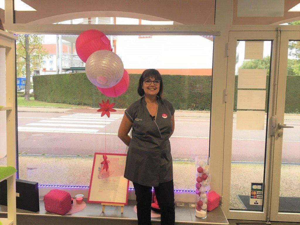 Florence Chagneux s'engage avec l'opération La vie en rose