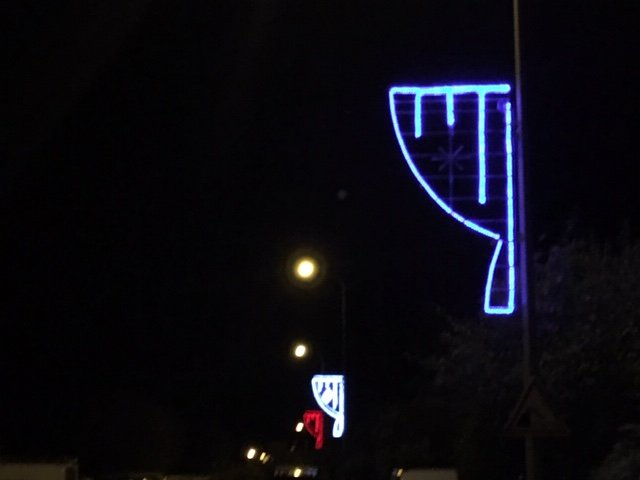La nuit du 4 novembre c'était déjà Noël dans la rue des Clématites